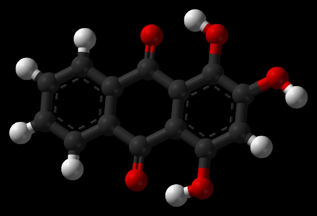 la molecola di porporina