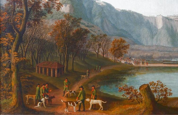 Cacciatori con cani corso