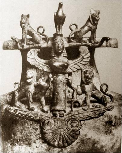 Civiltà etrusca, VII sec. a.C. Ritrovamento: Graeckwyl, Switzerland.